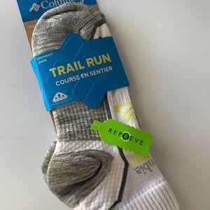 Columbia Trail Run athletic socks size M